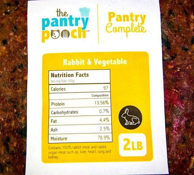 Rabbit & Vegetable
